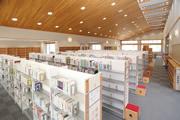 三隅図書室の内部写真1